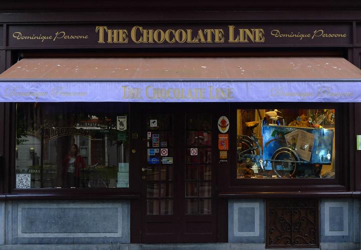 Schokoladengeschäft