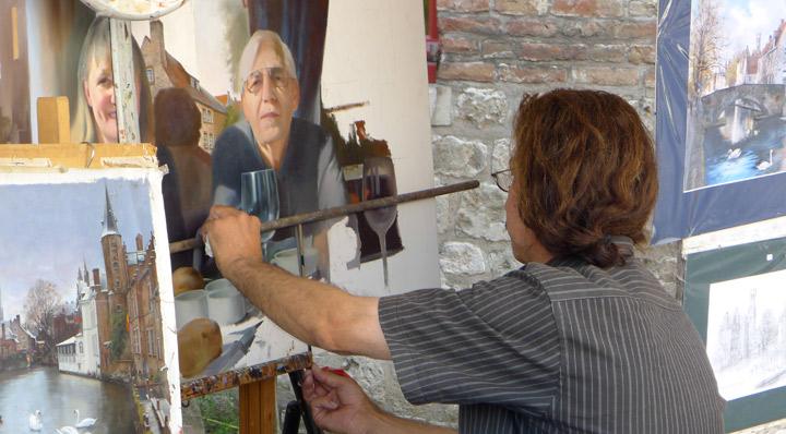 Brügge Künstler