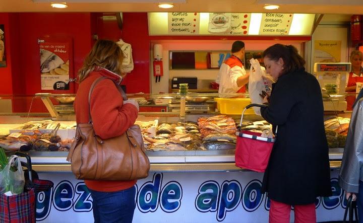 Fischmarkt in Maastricht