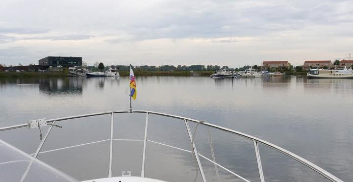 Boot anmelden - Zielhafen