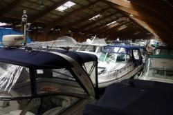 Boot winterfest machen – Bootshalle – einwintern