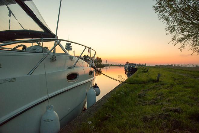 Friesland-Bootsurlaub
