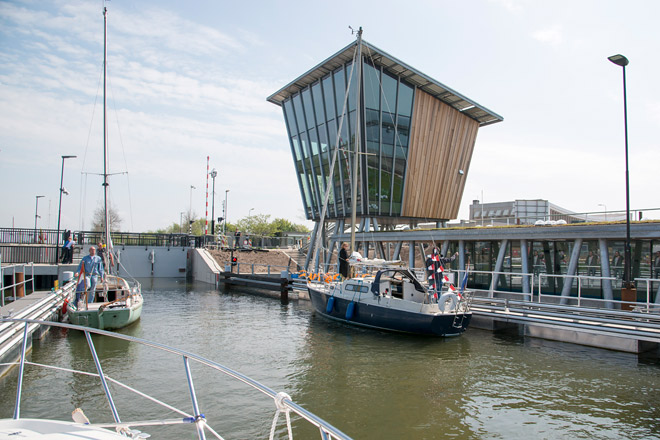 Stavoren Friesland-Bootsurlaub