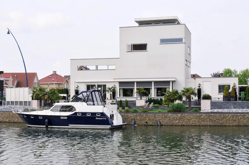 Häuser Cuijk Hafen