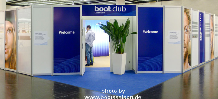 messe düsseldorf club boot.club in der boot