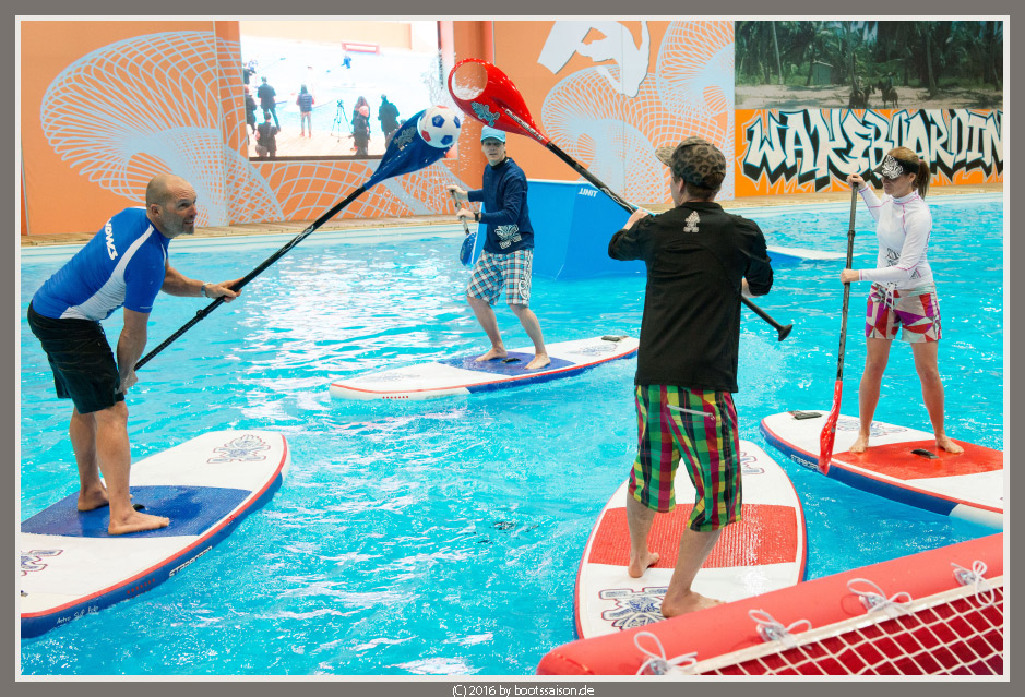 Stand up Paddling-Polo