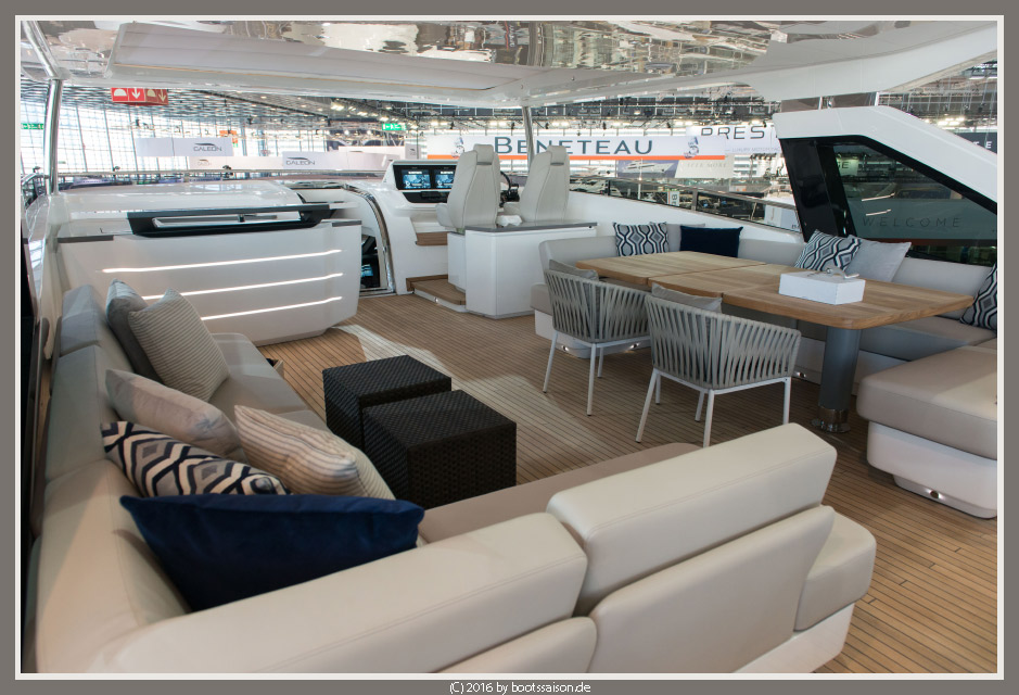 boot 2016: Princess 30 M Luxusyacht