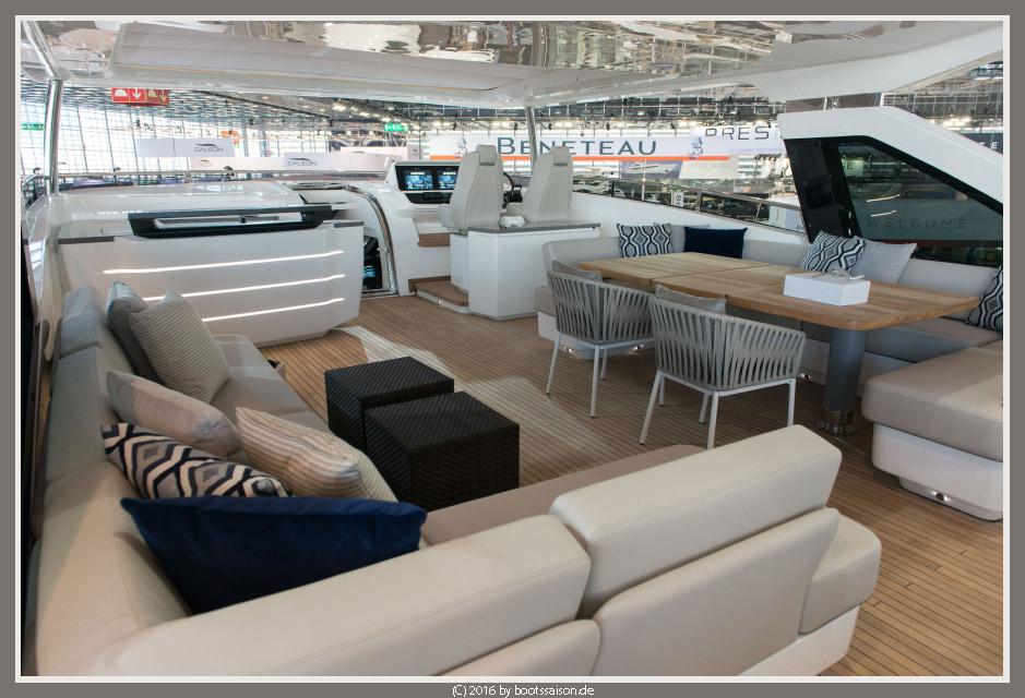 boot 2016: Princess 30 M Luxusyacht