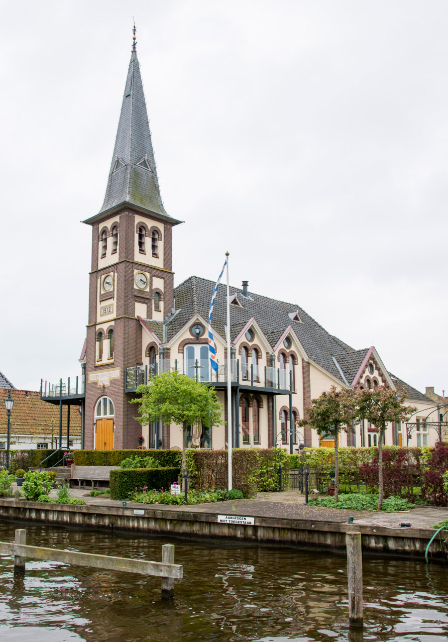 Woudsend - Wohnen in der Kirche