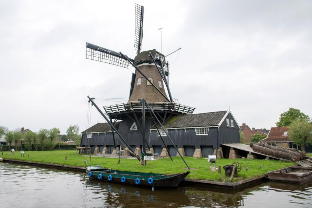 """Bootsurlaub Friesland - Sägemühle """"de Jager"""""""