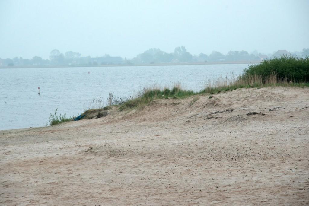 Strand auf der Insel Marchjepolle