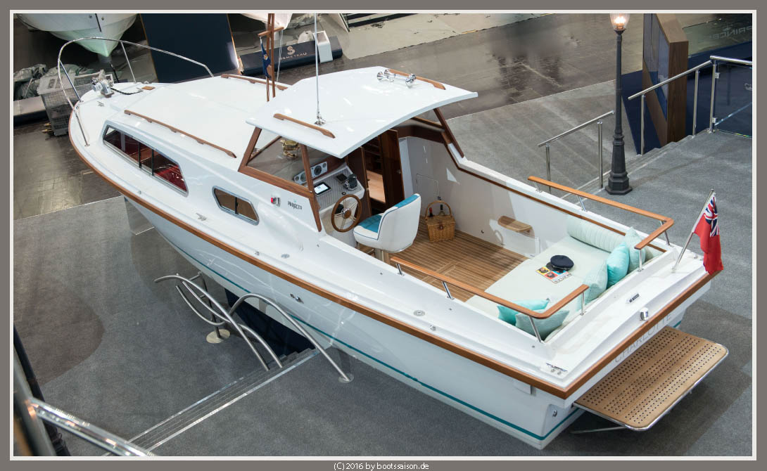 Project 31 Princess Yachts