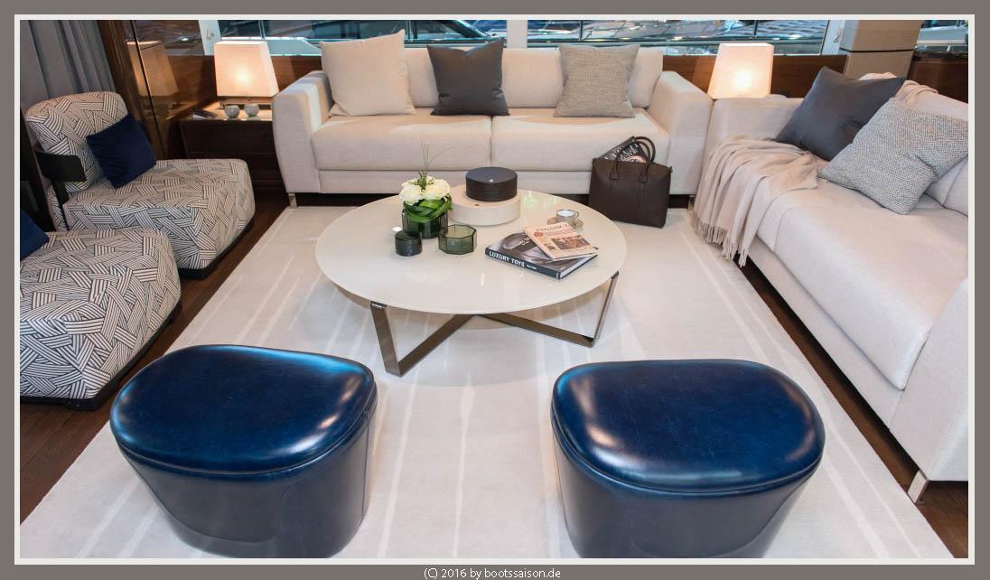princess yachts Wohnbereich