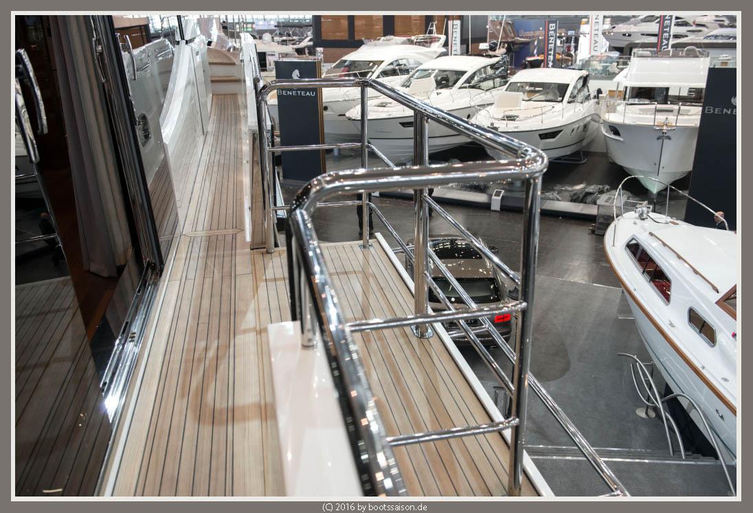 princess yachts Balkon