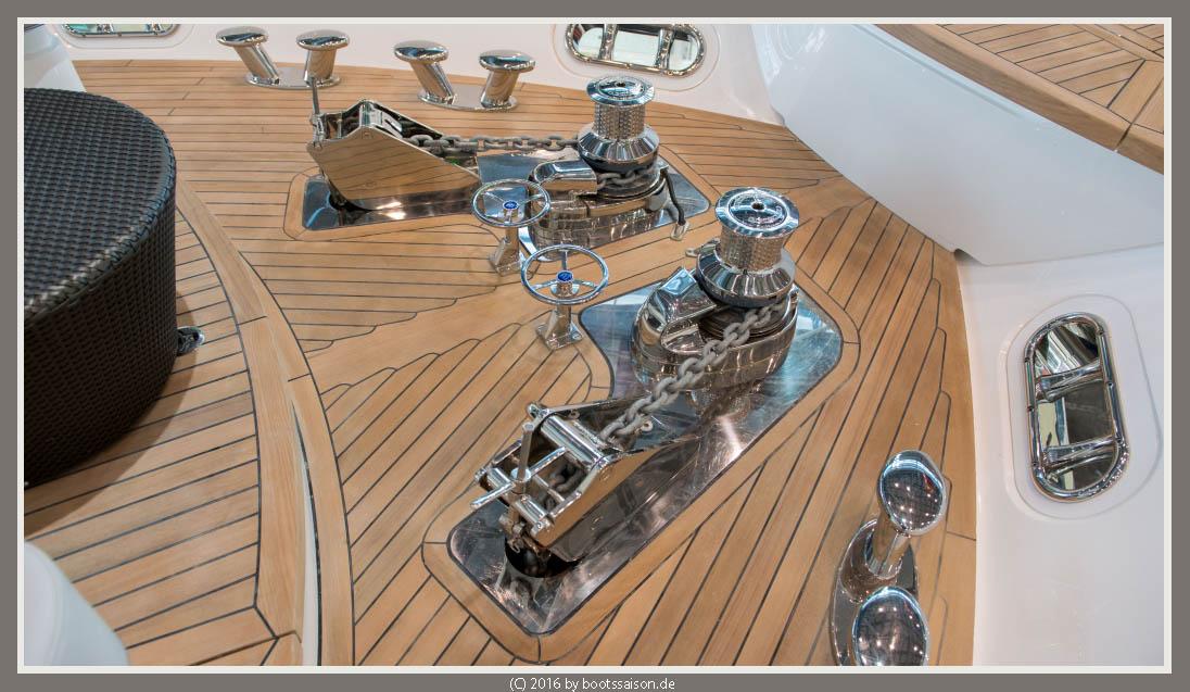 princess yachts Ankergeschirr