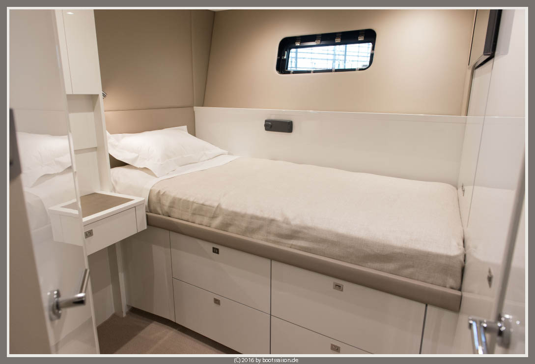 princess-yachts captains cabin
