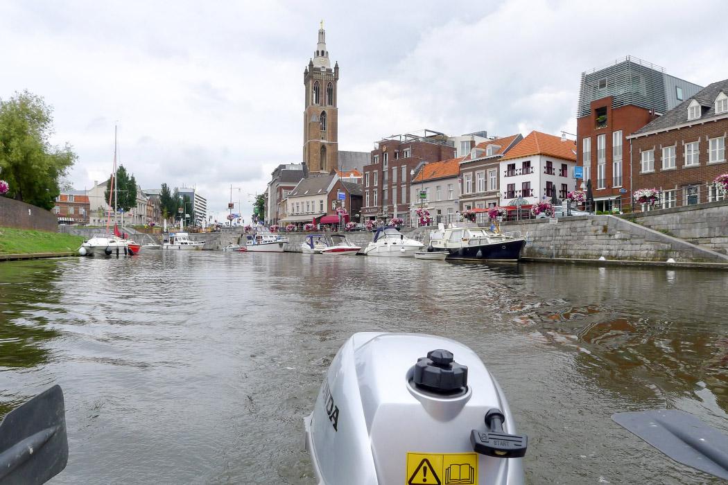 Bootsfahrt Roemonds Grachten