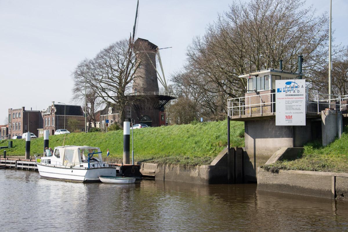 Gouda, Hollandse Ijssel