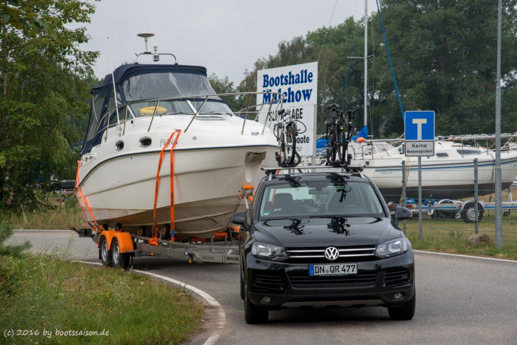 Bootsurlaub Mecklenburgische Seenplatte