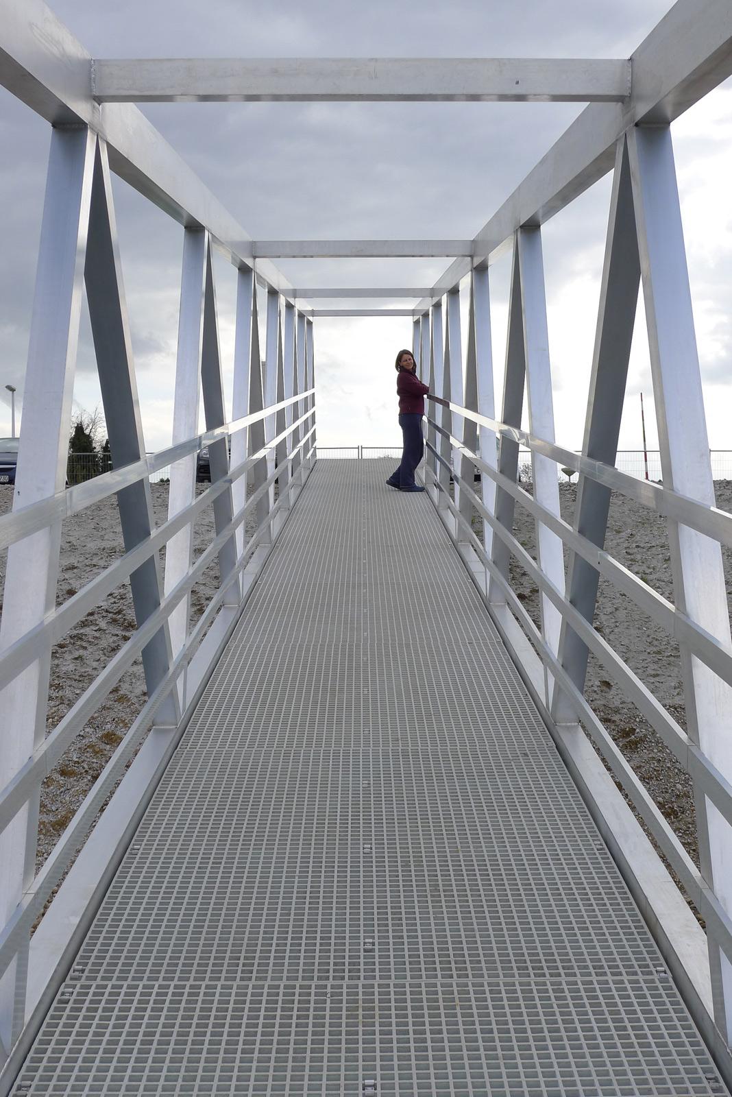 Stegbrücke City Marina Roermond