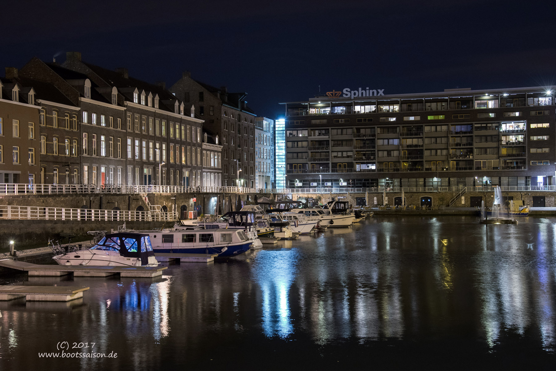 Bassin in Maastricht