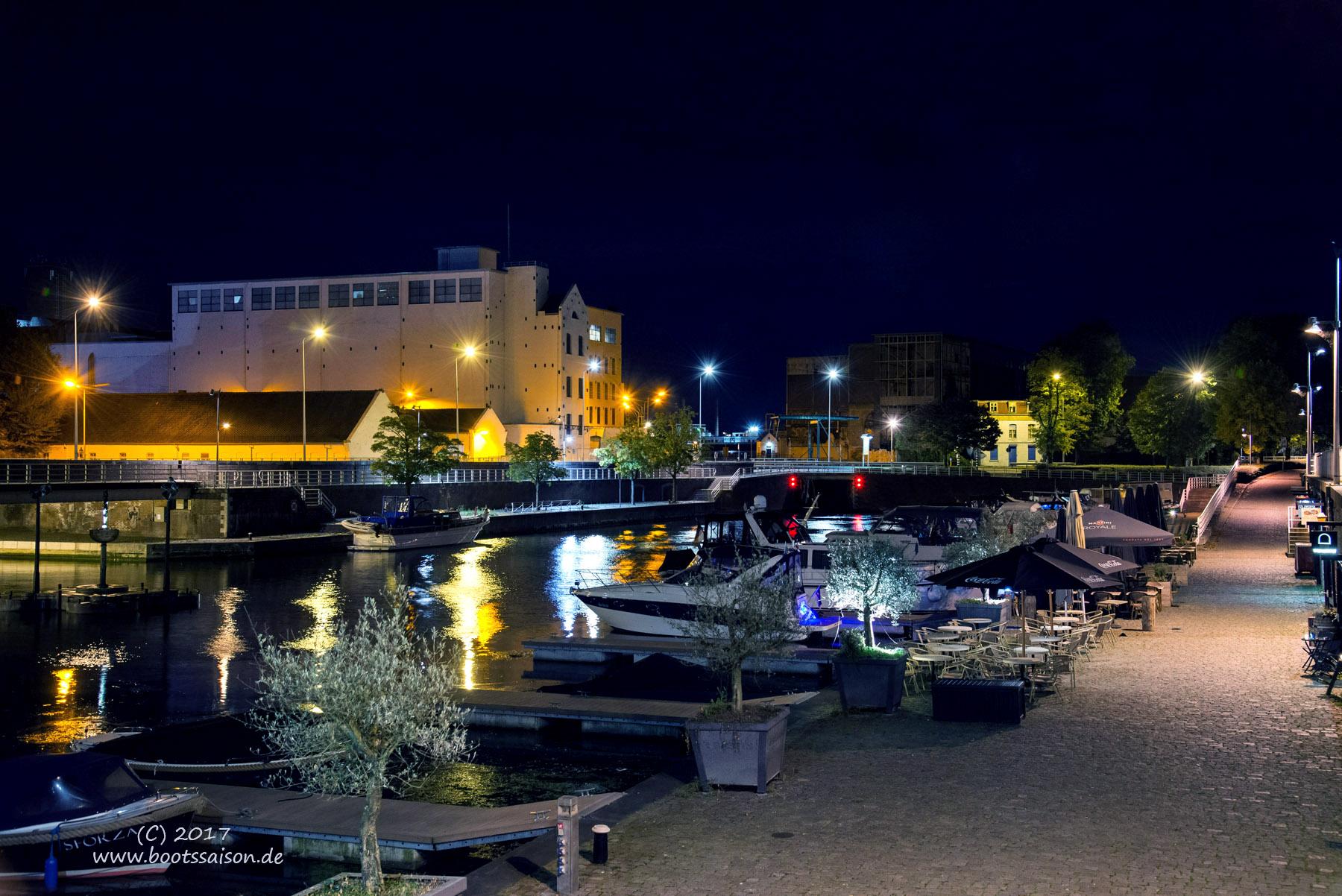 Hafenbecken Maastricht