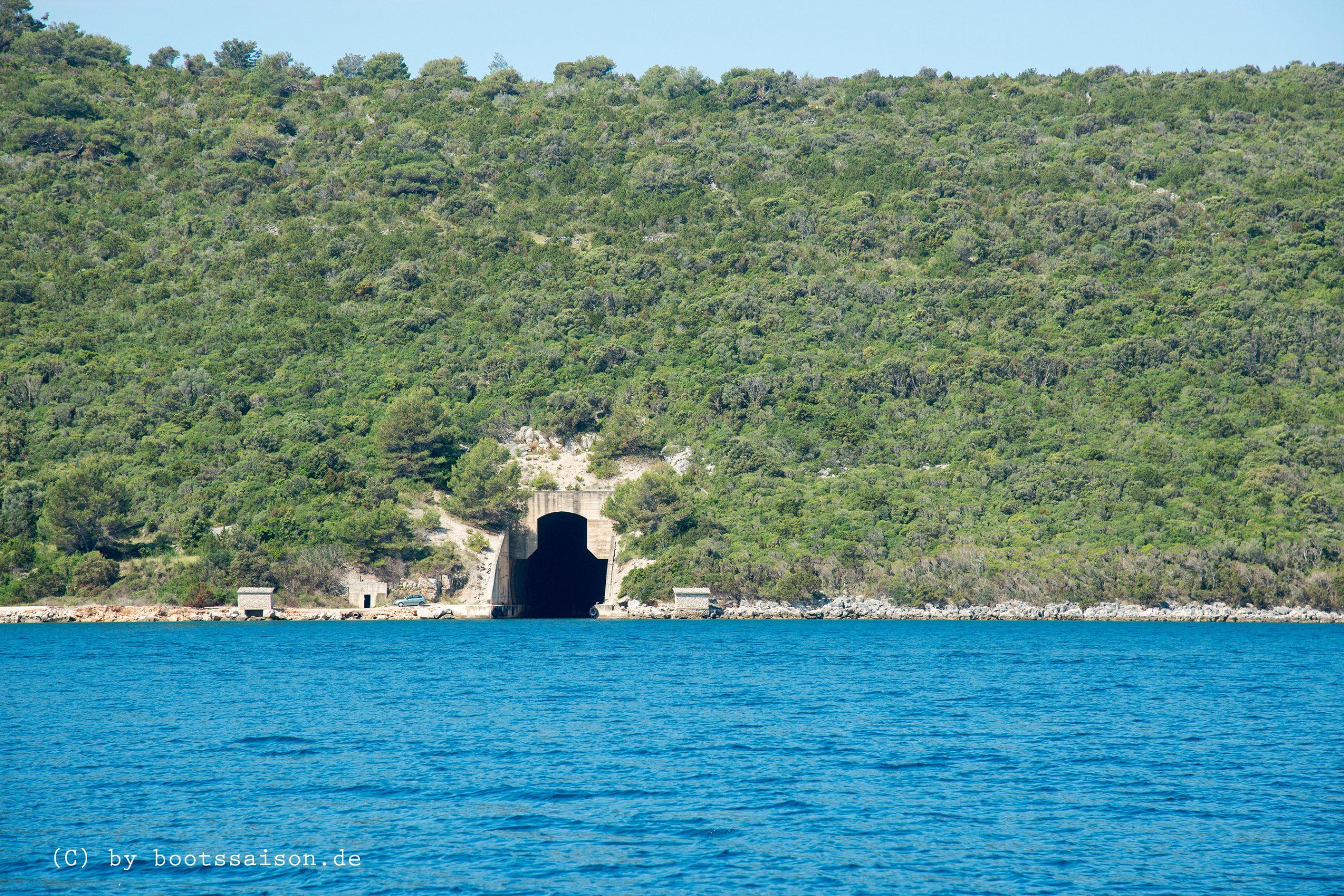 Bunker auf Dugi Otok