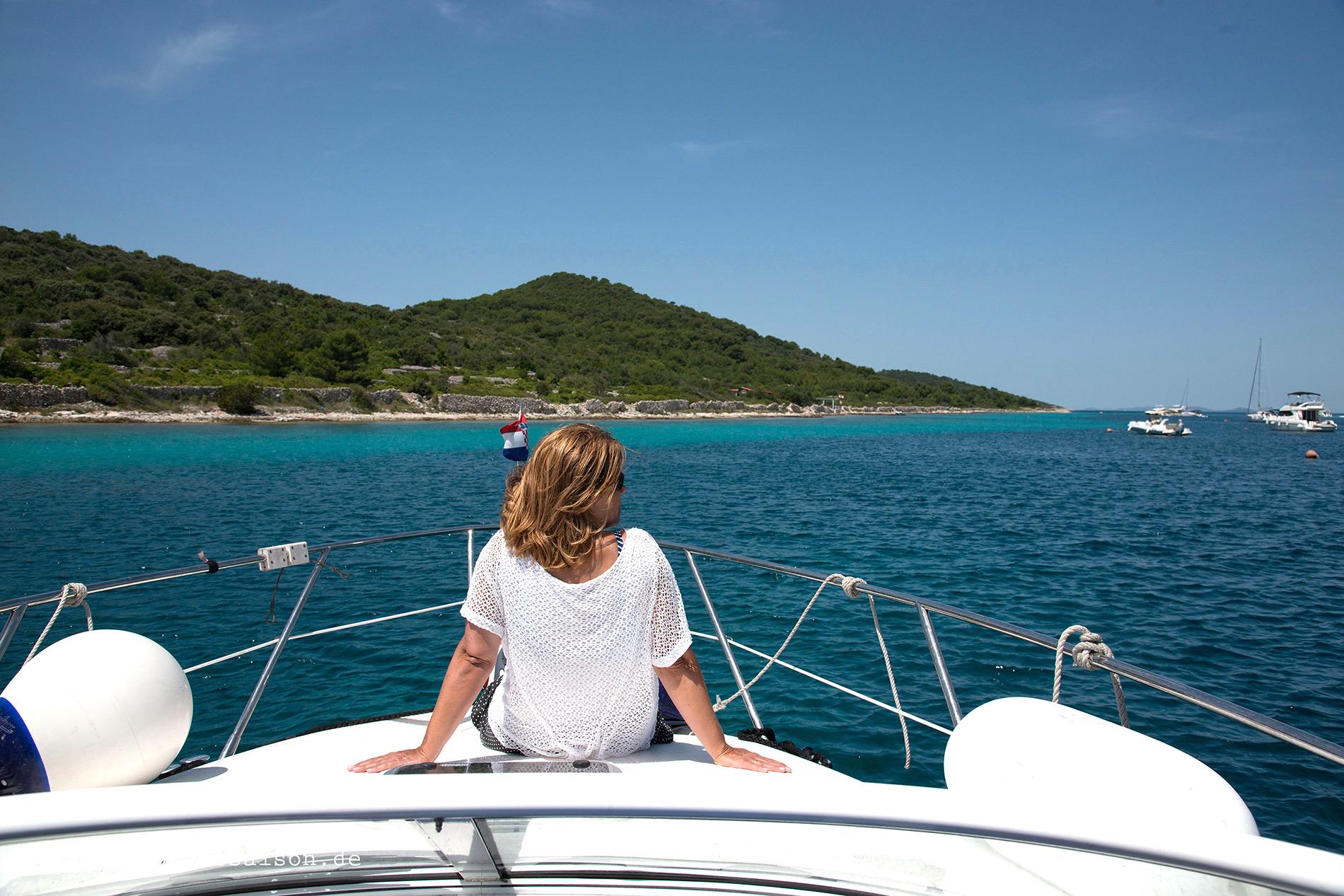 Kap Potkucina - Sonne und Meer genießenin Dalmatien