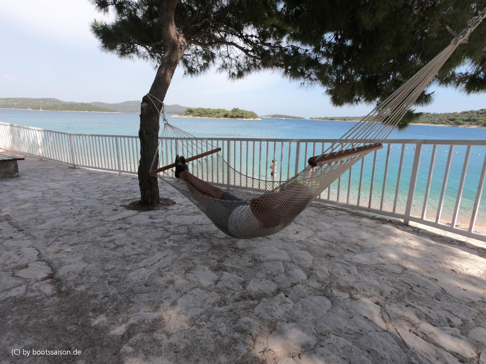 Jezera Haengematte, chillen in Dalmatien