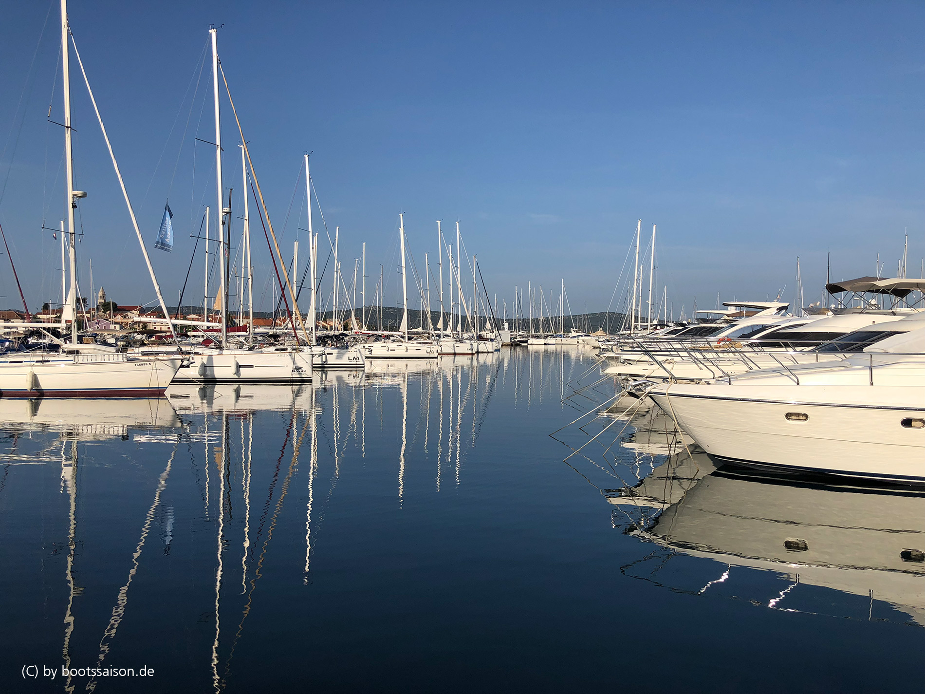 Hafen Biograd, Dalmatien
