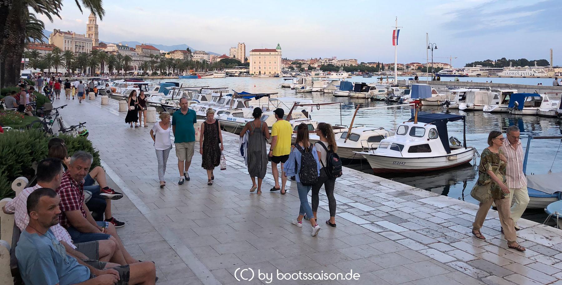 Uferpromenade Split